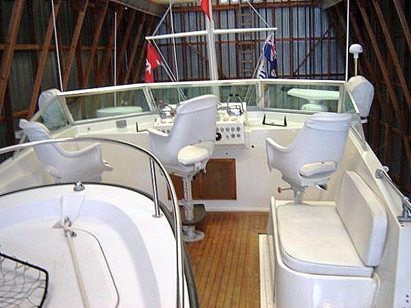 Shellani boat deck