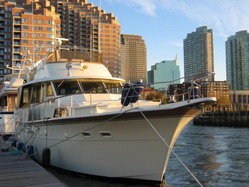Brigadoon at Liberty Landing Marina NY Harbor