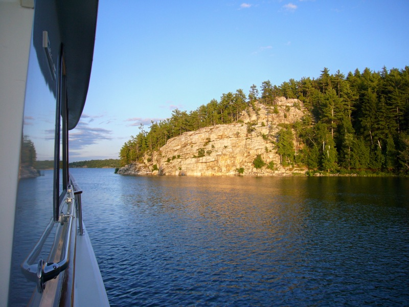 Covered Portage Cove -- North Channel -- Canada