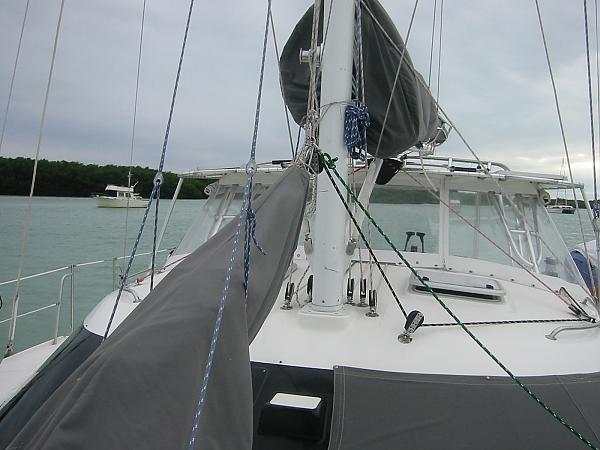 Living on a catamaran!