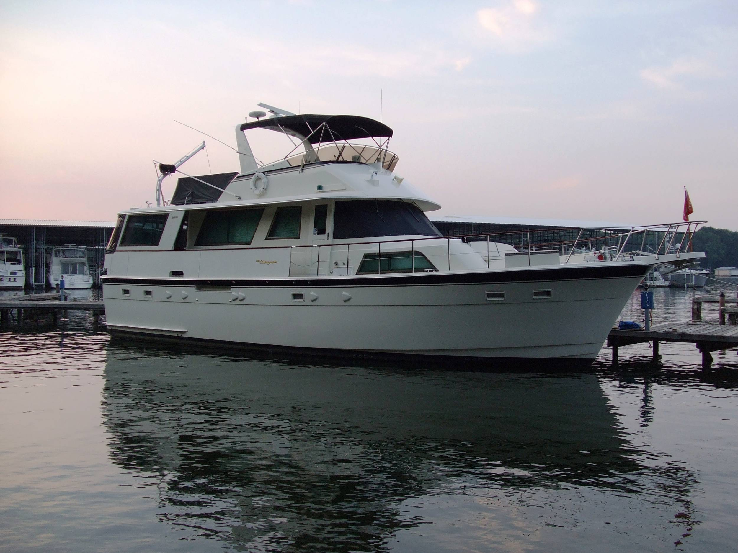 The Outrageous: 1984 56' Motor Yacht