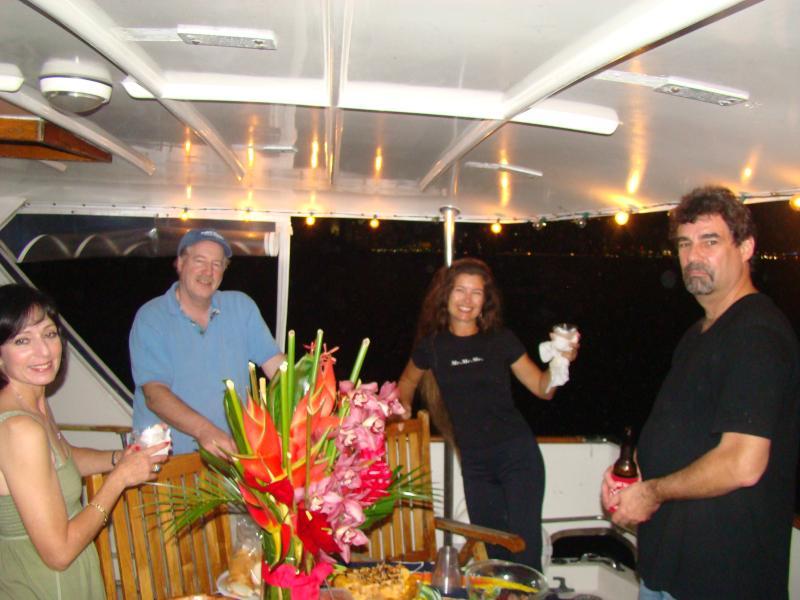 Miami Boat Show HOF raft up
