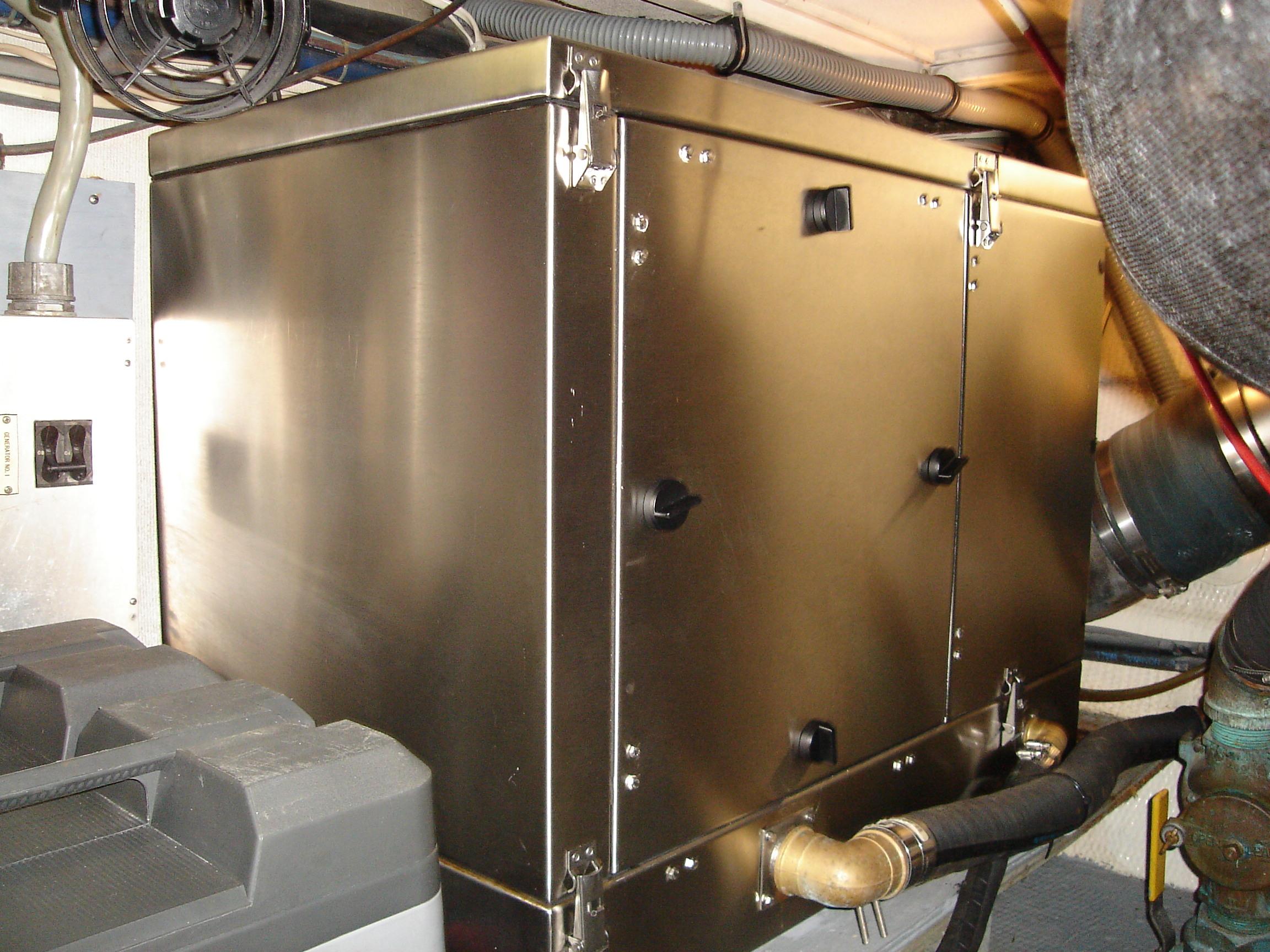 Generator Sound Shield